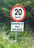 Walker Warning