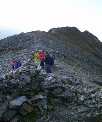 Errigal summit cairn