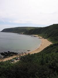 Kinnagoe Bay